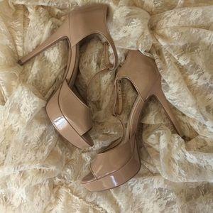 Jessica Simpson Bansi T Strap High Heels